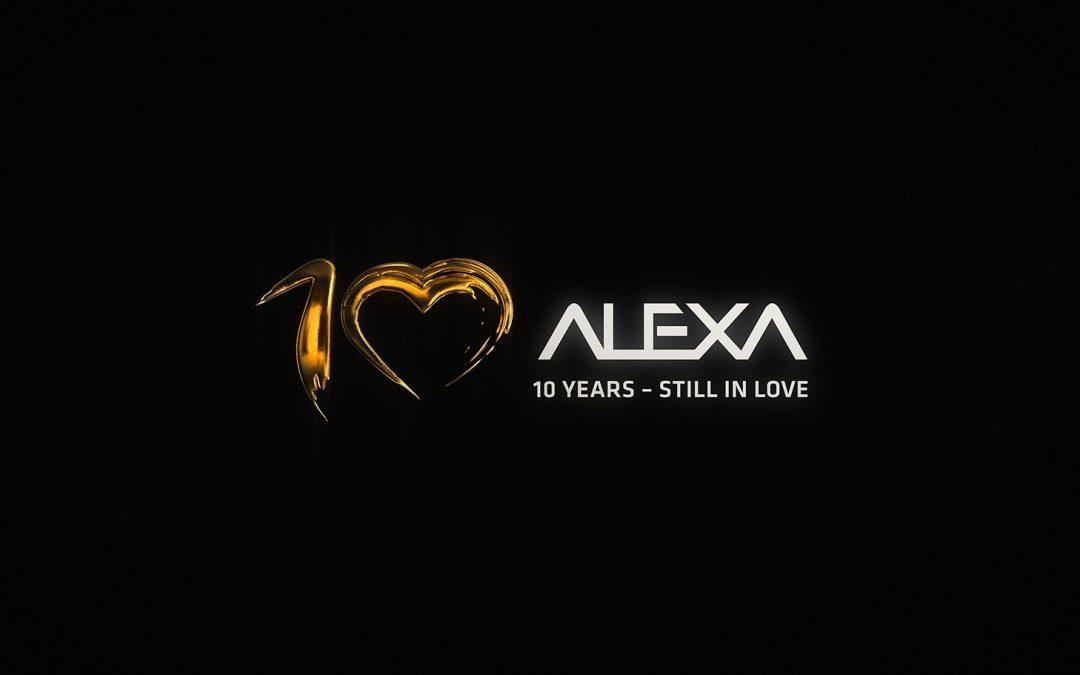 ALEXA cumple 10 años